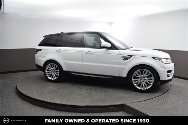 Pre Owned 2017 Land Rover Range Sport 3 0l V6 Supercharged Hse